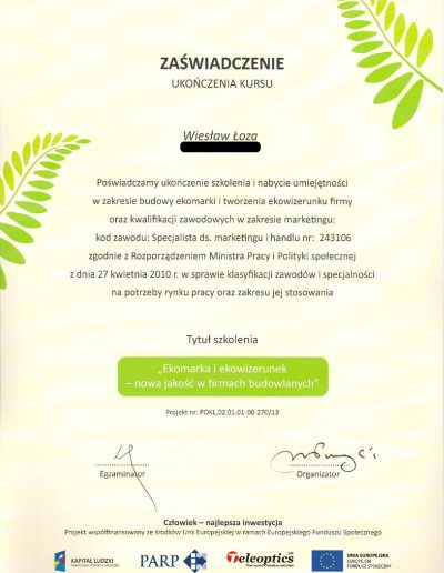 Budowa ekomarki i ekowizerunku